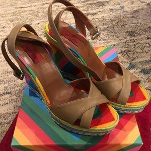 Valentino wedge sandals